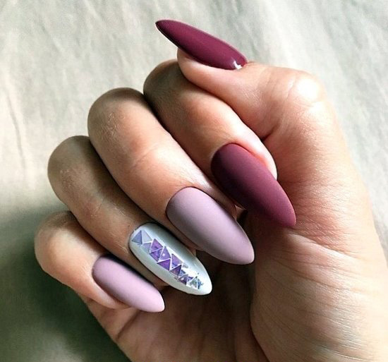Fashion & Lovable Acrylic Nails Ideas - royal, nails, nailideas, top, cute