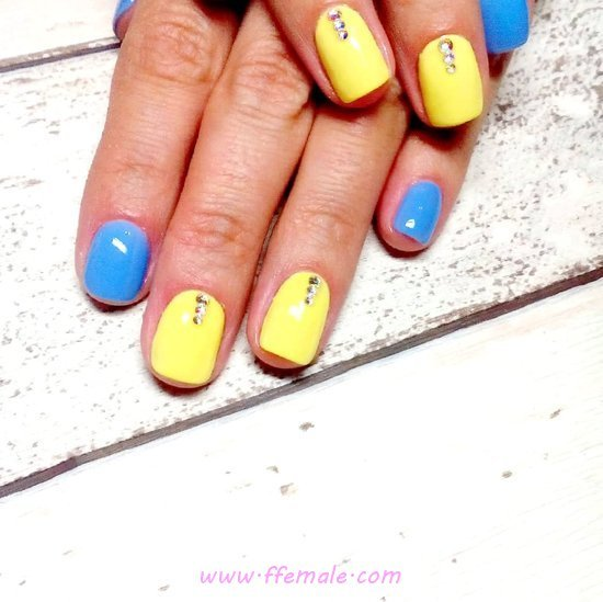 Fashion & Neat Gel Nails Design Ideas - nailart, naildesigns, trendy
