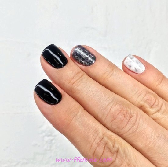 Fashionable American Gel Nail Trend - gorgeous, manicure, nail, simple