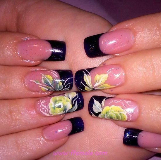 Fashionable & Simple Gel Nail Trend - dainty, acrylicnails, sweet, nails