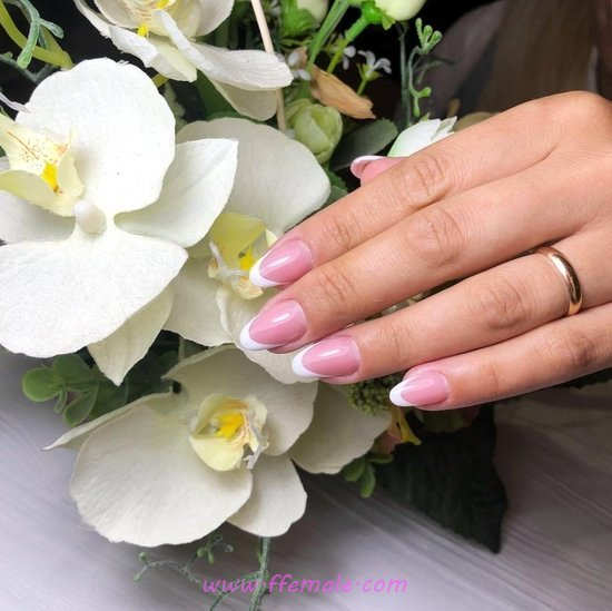 Feminine And Sexy Gel Nail Ideas - nailideas, nailart, pretty, dreamy