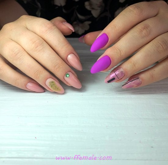 Feminine & Easy Gel Nails Trend - style, cutie, graceful, nail