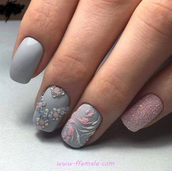 Feminine & Perfect French Gel Manicure Art - style, plush, clever, nails