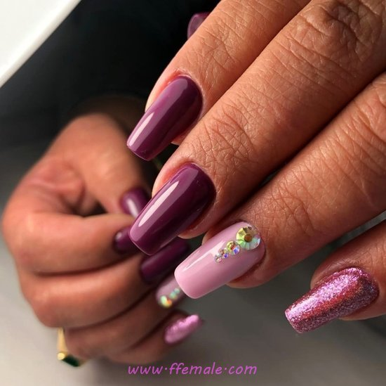 Feminine Perfect Nails Trend - party, nails, sexiest, gettingnails