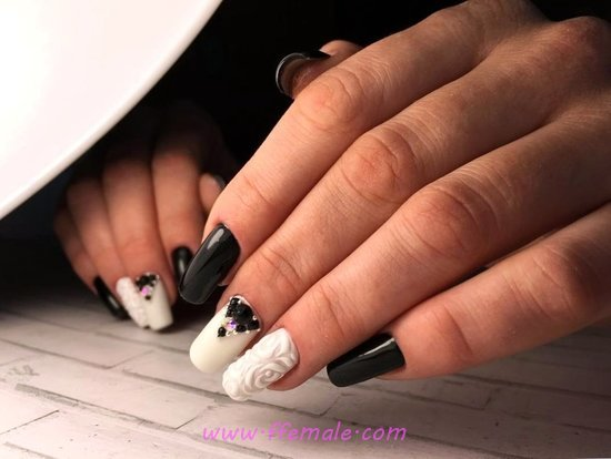 Fresh And Handy French Acrylic Nails Style - cutie, nails, nailartdesign, super