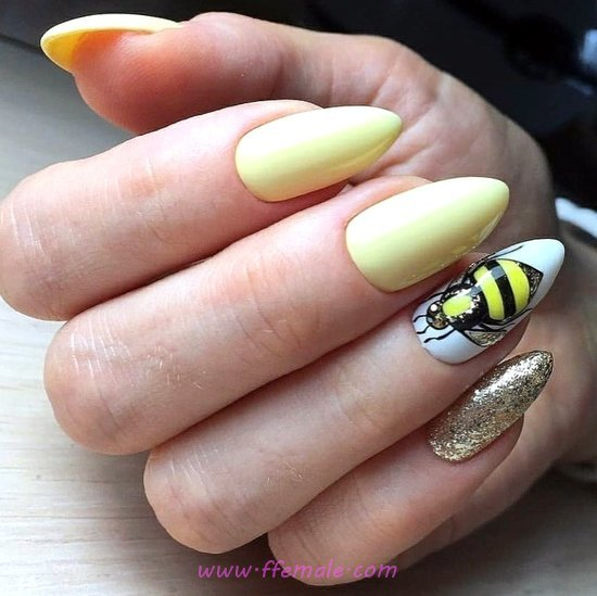 Fresh And Wonderful Gel Manicure Art - nail, top, beautytricks, design