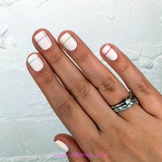 Girly & Iconic Nail Trend - nails, nailidea, cute, style