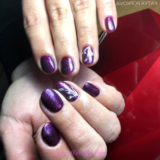 Glamour And Classic American Gel Nail Design Ideas - nailideas, nail, ravishing, ideas
