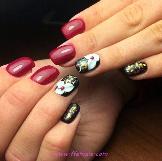 Glamour And Cute French Acrylic Manicure Art Ideas - beauty, nail, nailideas, sweetie