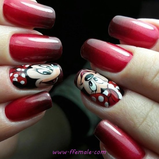 Glamour Awesome Acrylic Nail Art Ideas - nailidea, nails, awesome, best, smart
