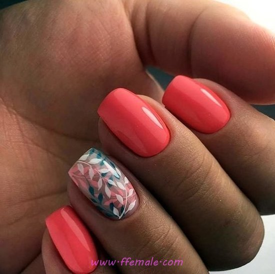 Glamour Dainty Gel Nail Style - dreamy, magic, diynailart, nailart