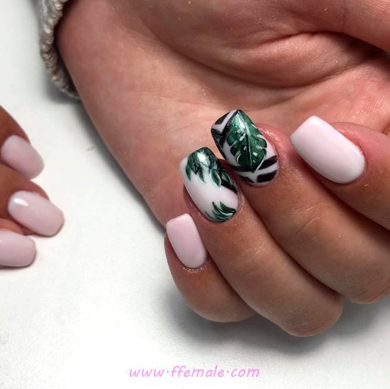 Glamour & Dainty Gel Nails Design Ideas - pretty, diy, nailartdesigns, nailart