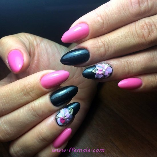 Glamour & Girly Nails Design - gettingnails, pretty, vacation, nail