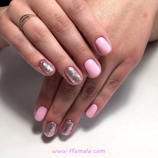 Gorgeous And Best Acrylic Manicure Ideas - furnished, nails, elegant, goingout