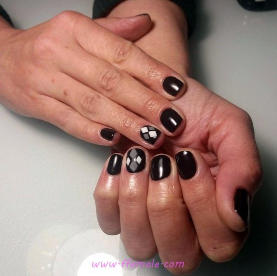 Gorgeous Charming American Gel Manicure Idea - magic, getnails, nailart, lovely
