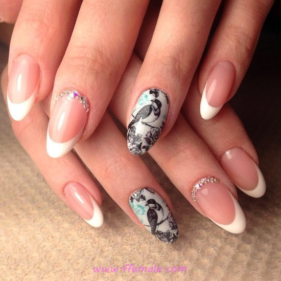 Graceful And Attractive Manicure Art Design - dreamy, love, nailartideas, nail