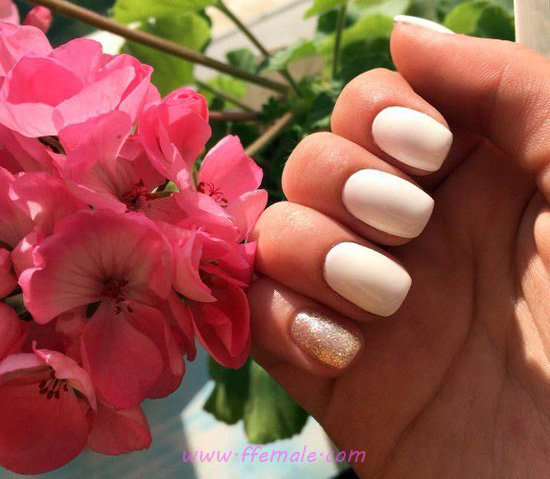Graceful And Chic Gel Manicure Trend - art, cutie, super, nailidea, nail