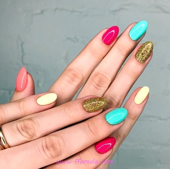 Graceful And Classy Gel Manicure Trend - nailartideas, nail, gel, graceful