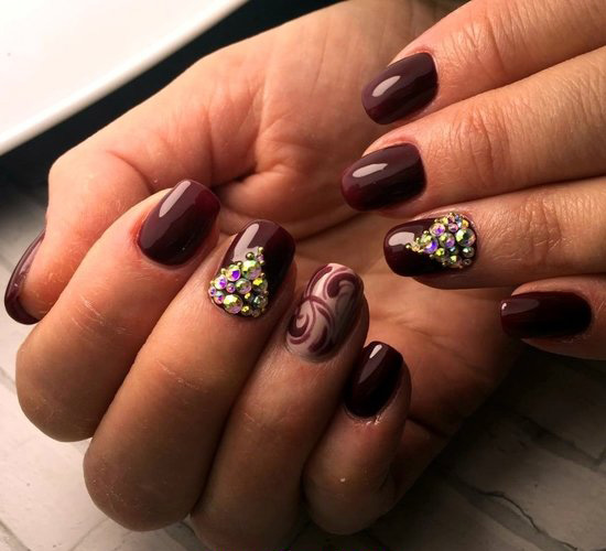 Graceful Charming Gel Nails Design Ideas - style, shiny, beautyhacks, nailart