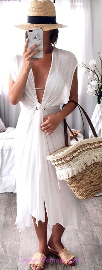 Handsome And Awesome Summer Time Dress - getthelook, popular, trendy