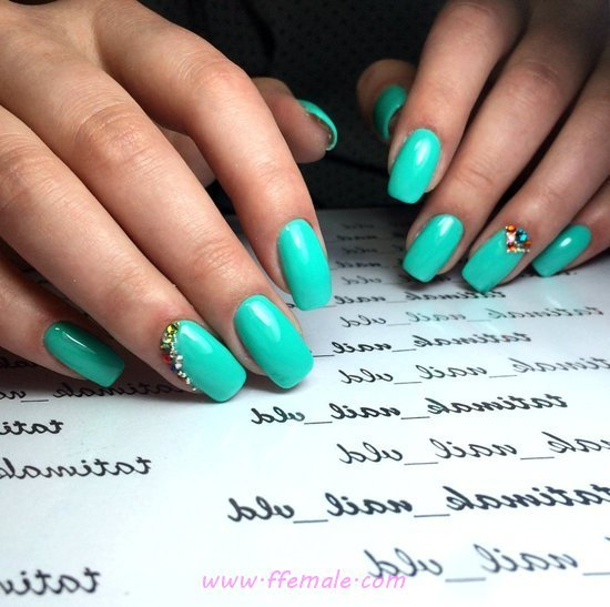 Handy And Ceremonial Gel Nails Trend - diy, party, sweet, nailideas, nails