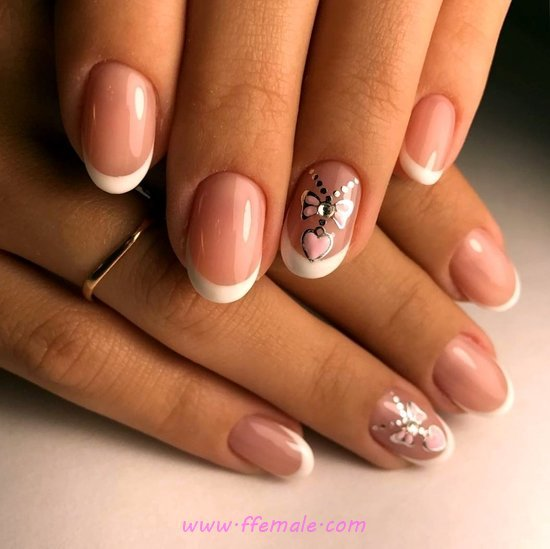 Handy And Delightful Gel Nail Design - glamour, nail, nailartideas, lovely