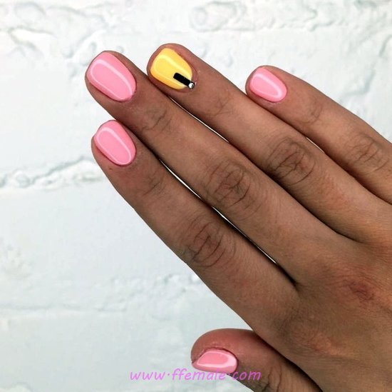 Handy And Enchanting Acrylic Nail Art Ideas - precious, teen, nails, nailstyle