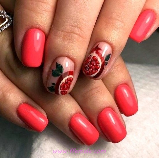 Handy And Girly American Manicure Art Design - nails, nailstyle, diy, selfnail