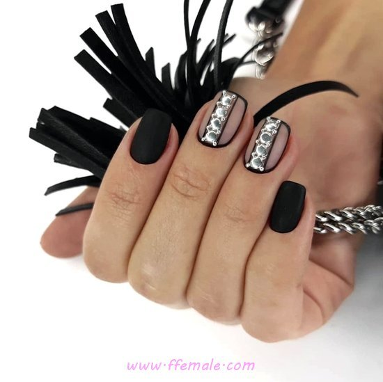 Hot & Cool Gel Manicure Trend - fashion, gel, nail, neat