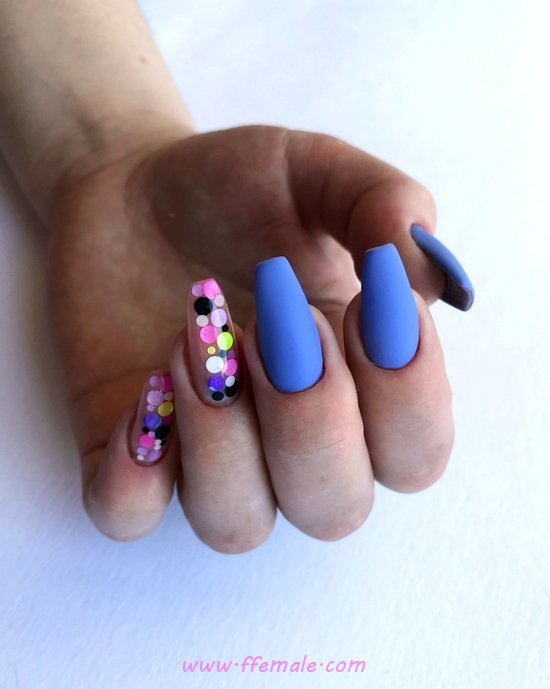 Hot Dainty American Gel Nails Design Ideas - naildesign, nails, nice, attractive
