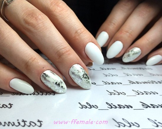Hot & Fresh Gel Nails Design Ideas - nails, nailidea, gelnails, neat, cool