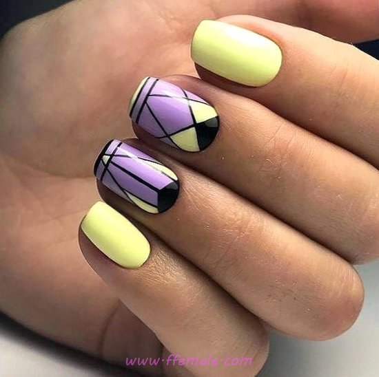 Iconic And Classy Gel Nails Art Ideas - nails, nailideas, lovable