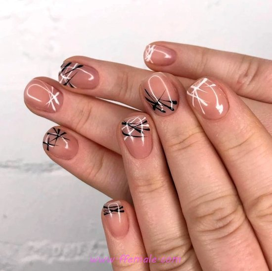 Iconic Awesome Acrylic Manicure - cutie, weekend, loveable, nail