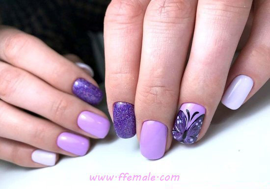 Incredibly And Enchanting Gel Manicure Trend - nice, nails, naildesign