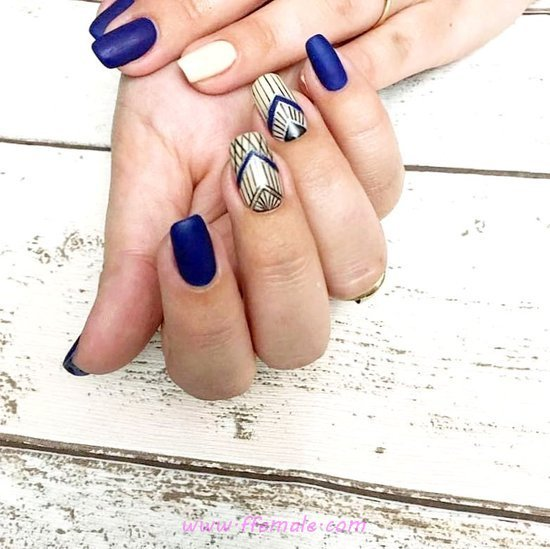 Incredibly & Colorful French Gel Manicure Ideas - nailswag, nailart, clever, gelnails