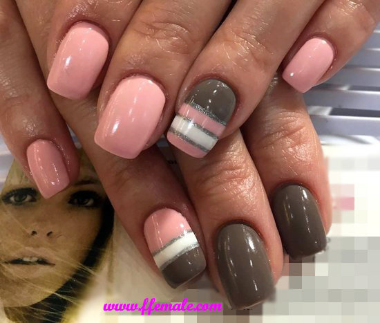 Incredibly Fresh French Acrylic Manicure Style - furnished, naildesign, nails, top