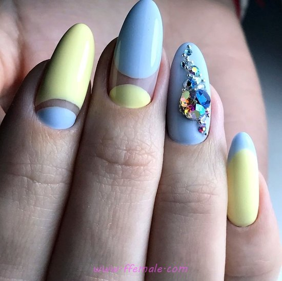Inspirational And Awesome Gel Manicure Design - art, handsome, top, nailart, nailidea