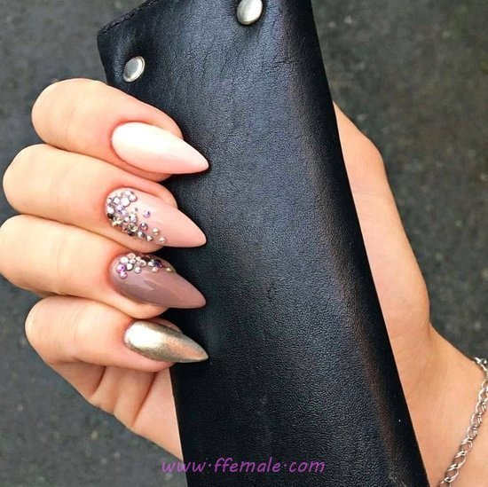 Inspirational And Cutie Nail Design Ideas - fashion, sweetie, nailidea, nails
