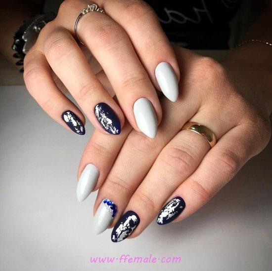 Inspirational And Delightful American Acrylic Manicure - handsome, nail, adorable, best