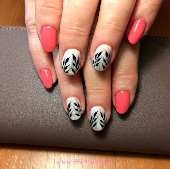 Inspirational & Beautiful Acrylic Nails Art Ideas - fashion, nail, sexy, cunning, gel
