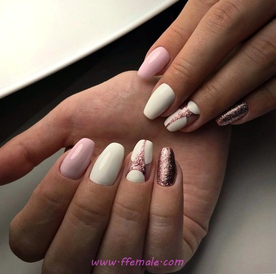 Lovable And Awesome Acrylic Nail - nails, magic, lovable, glamour