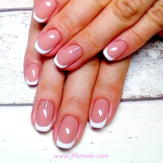 Lovable And Classic Gel Nail Art Ideas - star, cutie, nails, gorgeous, sexy