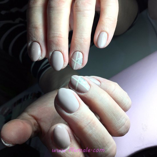 Lovable And Delightful Gel Nail Style - enchanting, nails, star