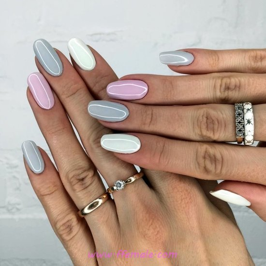 Lovable & Balanced Gel Nail Art Ideas - fashion, art, nailartdesign, nail