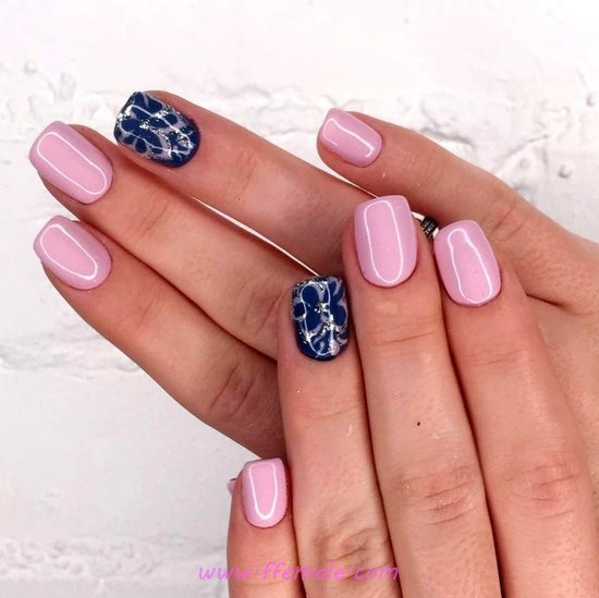 Lovable & Dainty Gel Nails Design - nails, naildesign, creative, sexiest