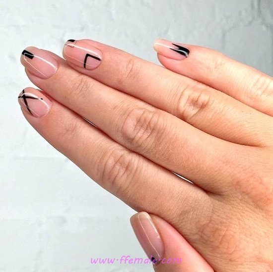 Lovable Delightful Nails Art - simple, graceful, party, nail, clever
