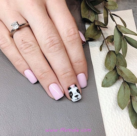 Lovable & Elegant Art Design - elegant, love, art, nailart