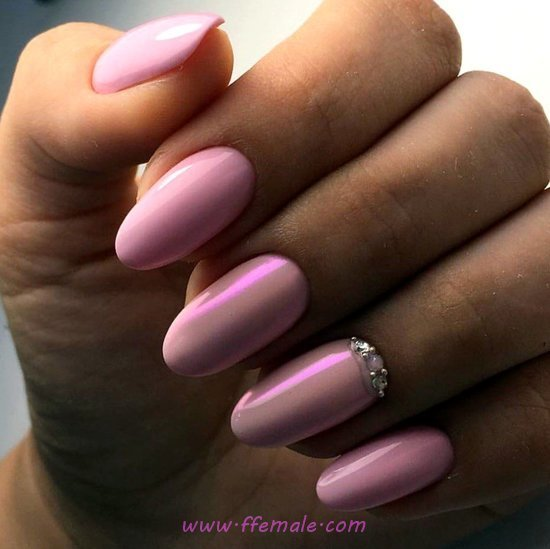 Loveable And Ceremonial Acrylic Nail Style - nice, nailart, beautytutorial, style