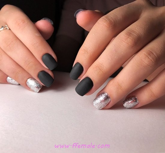 Loveable And Enchanting Gel Manicure Art Ideas - art, diynailart, nails, glamour