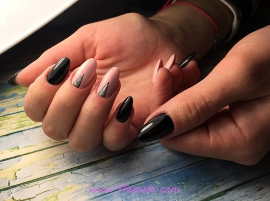Lovely And Awesome Acrylic Manicure Art - handsome, simple, best, gel, nails